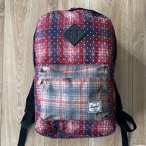 Herschel Supply Co. Plaid Backpack